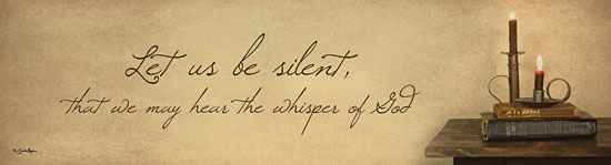 """Let Us Be Silent"""