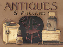 """Antiques and Primitives"" Picture"