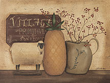 """Village Primitives and Antiques"" Picture"