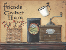 """Friends Gather Here Kitchen"" Picture"