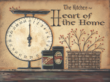 """Heart of The Home Kitchen"" Picture"