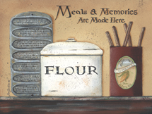 """Meals and Memories"" Kitchen Picture"