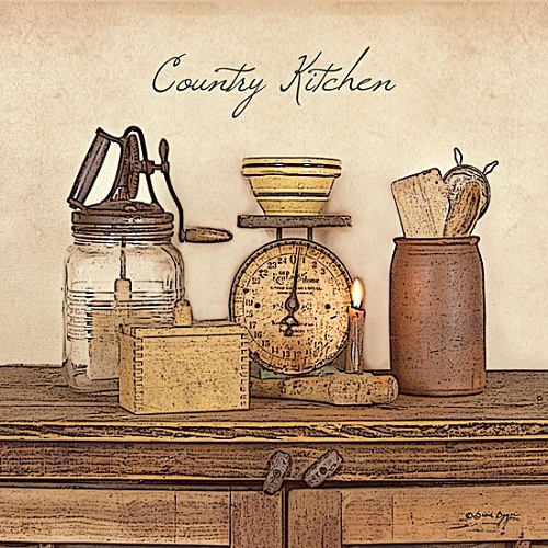 """Country Kitchen"" Picture"