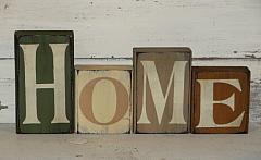 Primitive HOME Standing Block Set