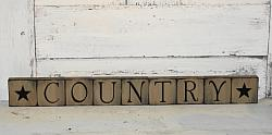 Country Primitive Block Set