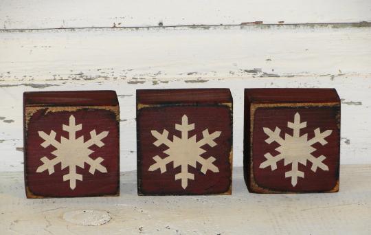 Snowflakes Primitive Blocks