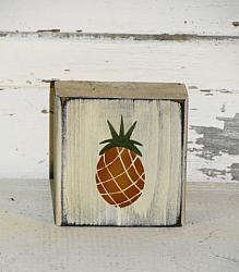 Pineapple Shelf Sitter Block