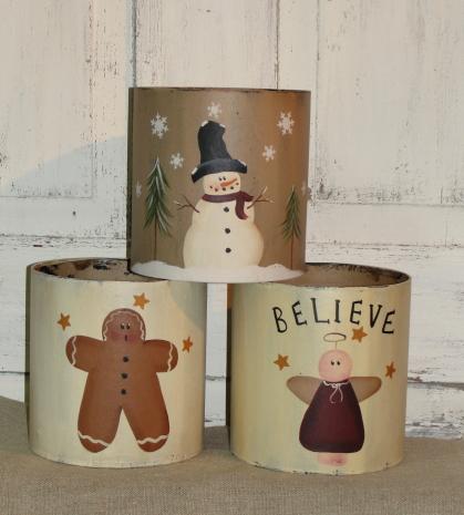 Round Winter Boxes
