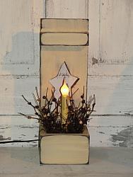 Primitive Petite Star Box Light / Lighting Style optional