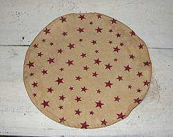 Primitive Round Star Mats