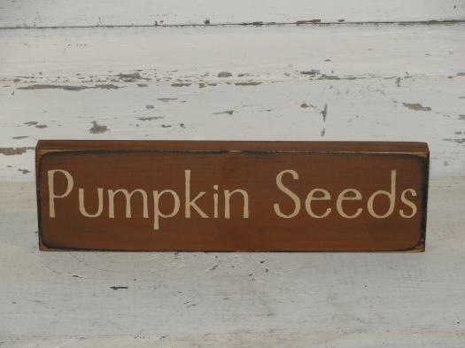 Pumpkin Seeds Small Shelf Sitter