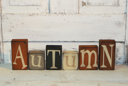 Autumn Block Set