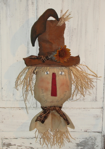 Primitive Fall Hanging Scarecrow