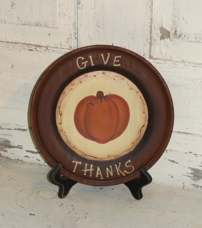 Give Thanks Plate