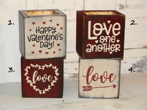 Love and Valentine Boxes