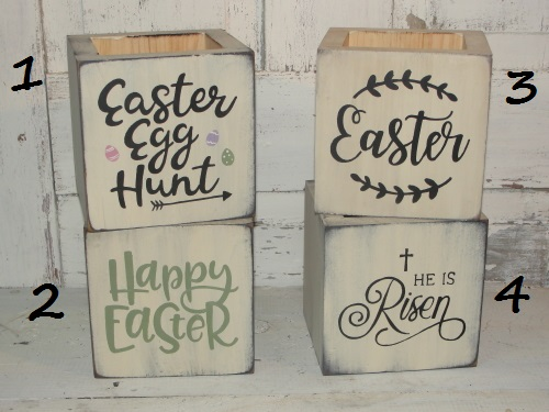 Easter Boxes With Sayings