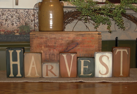 Harvest Block Set