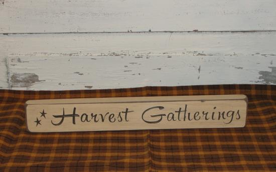 Harvest Gatherings shelf sitter