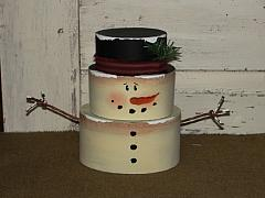 Little Frosty Handpainted Stacking Boxes
