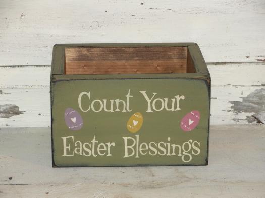 Primitive Easter Home Decor