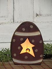 Primitive Spring Easter Egg Box Light