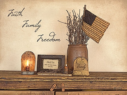 """Faith Family Freedom"" Picture"