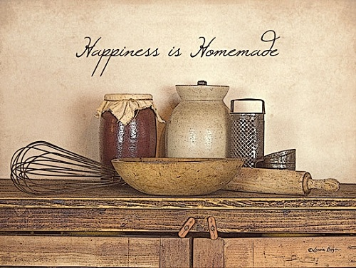 """Happiness is Homemade"" Picture"