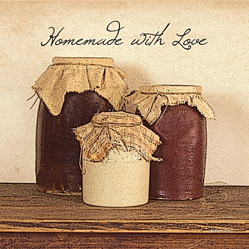 """Homemade With Love"" Picture"