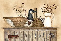 Duck and Berry Still Lift Primitive Picture