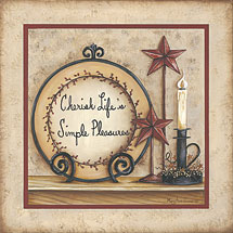 """Cherish Life's Simple Pleasures"" Picture"