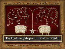 """The Lord Is My Shepard, I Shall Not Want..."" Picture"