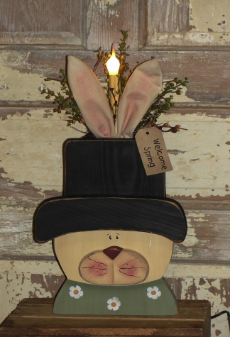 Bunny Box Light with Hat