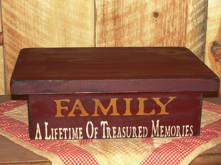 Family Primitive Wood Table Riser