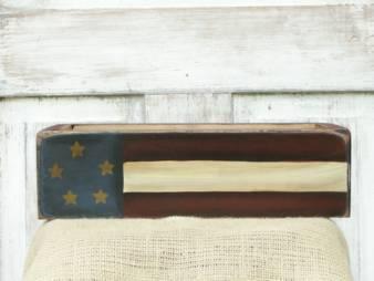 Primitive Flag Box