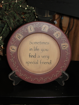 Friends Primitive Plate