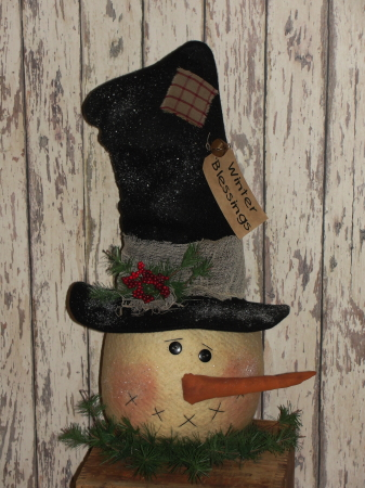 WINTER Homespun Decor