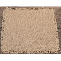 Woven Bulap Fringed Linen-Small