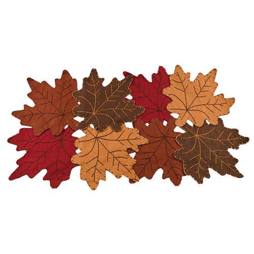 Fall Leaves Mat-Felt