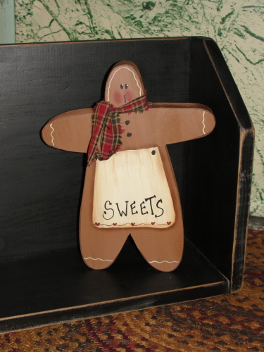 Gingerbread Sitter