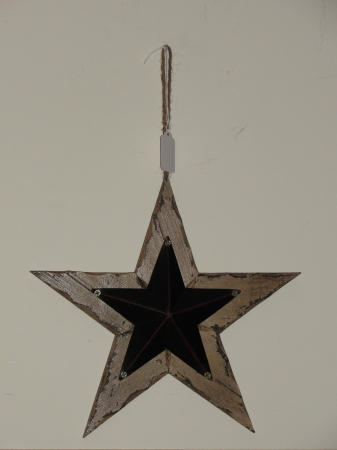 Rustic Hanging Star