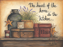 """Heart Of The Home"" Kitchen Picture"