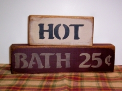 Hot Bath Primitive Stacking Blocks