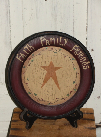 Primitive Decorative Star Plate