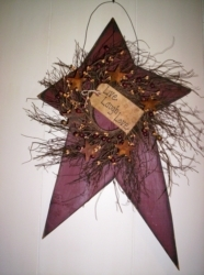 Large Primitive Rustic Star