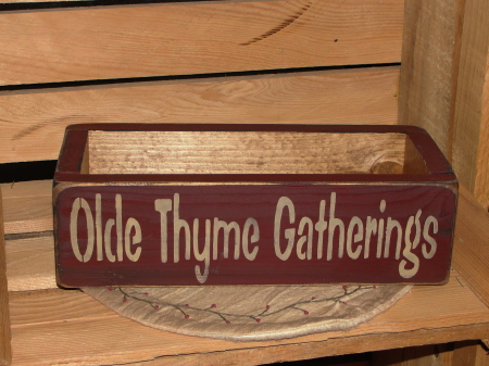 Olde Thyme Gatherings Box