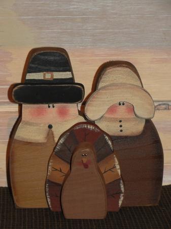 Pilgrim Wood Shelf Sitters