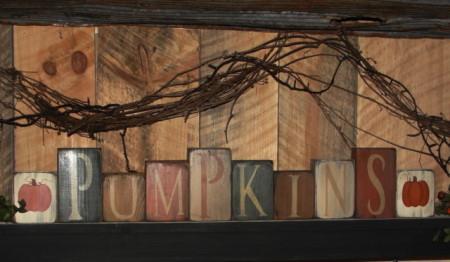 Pumpkins Block Set