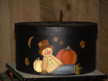 Primitive Scarecrow Fall Nesting Box