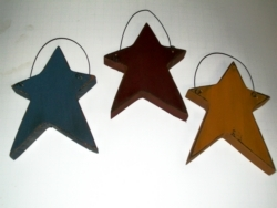 Primitive Wood Stars