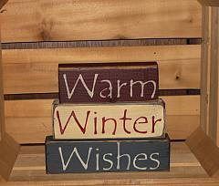 Warm Winter Wishes Blocks